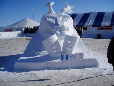 Another Snow Ice Sculpture